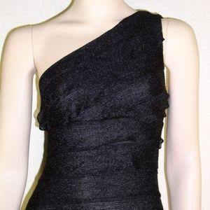 Studio M NWT Sexy One Shoulder Mesh Dress #2072